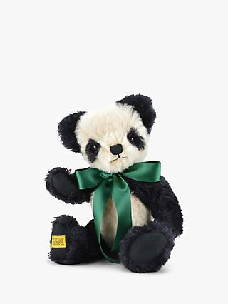 Merrythought Antique Panda Teddy Bear Soft Toy