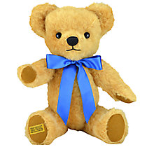 Buy Merrythought London Curly Gold Bear with Growl, H46cm Online at johnlewis.com