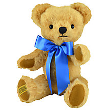 Buy Merrythought London Curly Gold Teddy Bear, H35cm Online at johnlewis.com