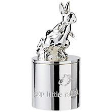 Buy Wedgwood Peter Rabbit First Tooth Box, Silver Online at johnlewis.com
