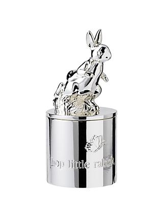 Wedgwood Peter Rabbit First Tooth Box, Silver