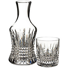Buy Waterford Lismore Diamond Carafe and Glass Online at johnlewis.com