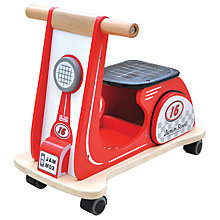 Buy Indigo Jamm Scooter, Racing Red Online at johnlewis.com