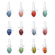 Buy John Lewis Bright Egg Decorations, Set of 12 Online at johnlewis.com