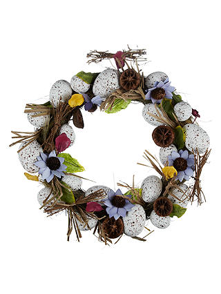 Buy John Lewis Easter Egg Wreath Online at johnlewis.com