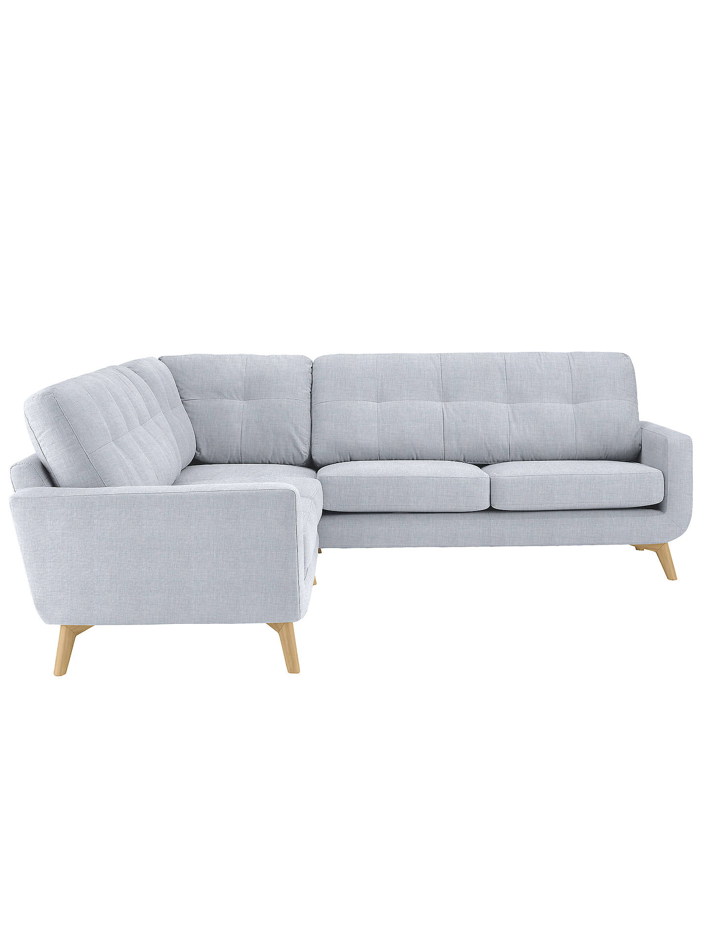 john lewis barbican corner sofa fraser duck egg at john. Black Bedroom Furniture Sets. Home Design Ideas