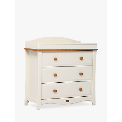 Boori Provence 3 Drawer Dresser, Ivory/Honey