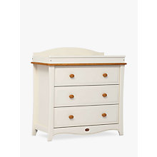 Buy Boori Provence 3 Drawer Dresser, Ivory/Honey Online at johnlewis.com