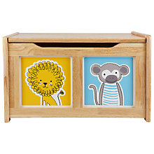 Buy John Lewis Noah's Ark Toy Chest, Natural Online at johnlewis.com