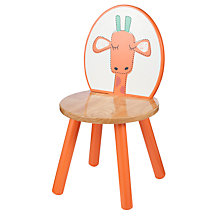 Buy John Lewis Baby's Noah's Ark Giraffe Chair, Orange Online at johnlewis.com