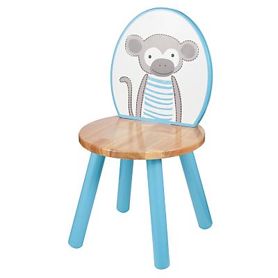 John Lewis Baby's Noah's Ark Monkey Chair, Blue