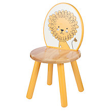 Buy John Lewis Baby's Noah's Ark Lion Chair, Yellow Online at johnlewis.com