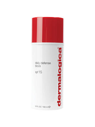 Buy Dermalogica Daily Defense Block SPF 15, 100ml Online at johnlewis.com