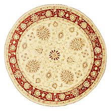 Buy John Lewis Garous Rug, Dia.140cm, Red/Beige Online at johnlewis.com