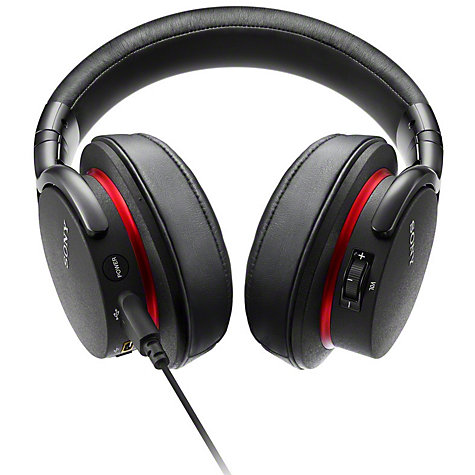 Buy Sony MDR-1ADAC Full Size Headphones with Built-In USB DAC Amplifier, Black Online at johnlewis.com
