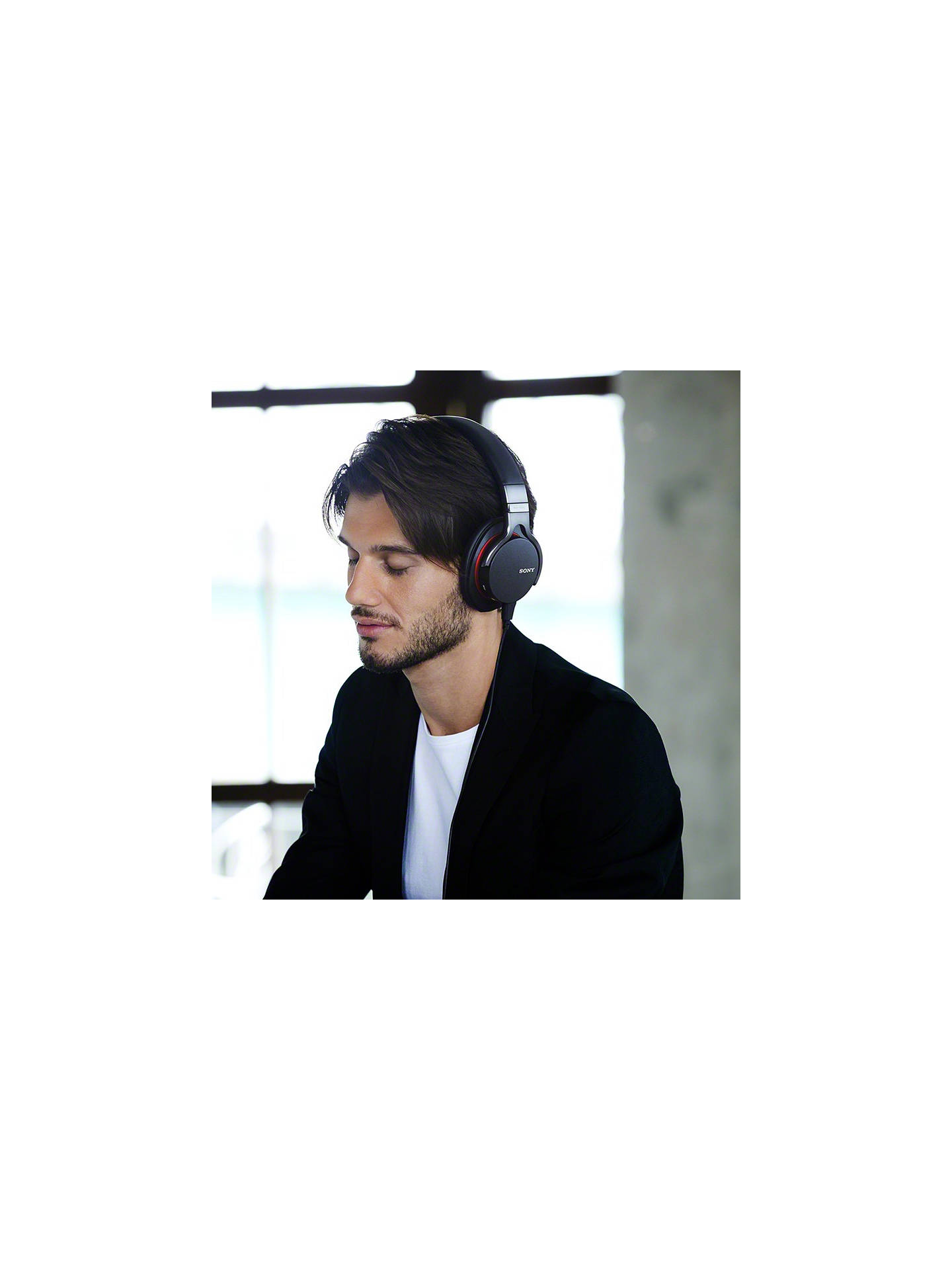 BuySony MDR1ADAC Full Size Headphones with Built-In USB DAC Amplifier, Black- Online at johnlewis.com