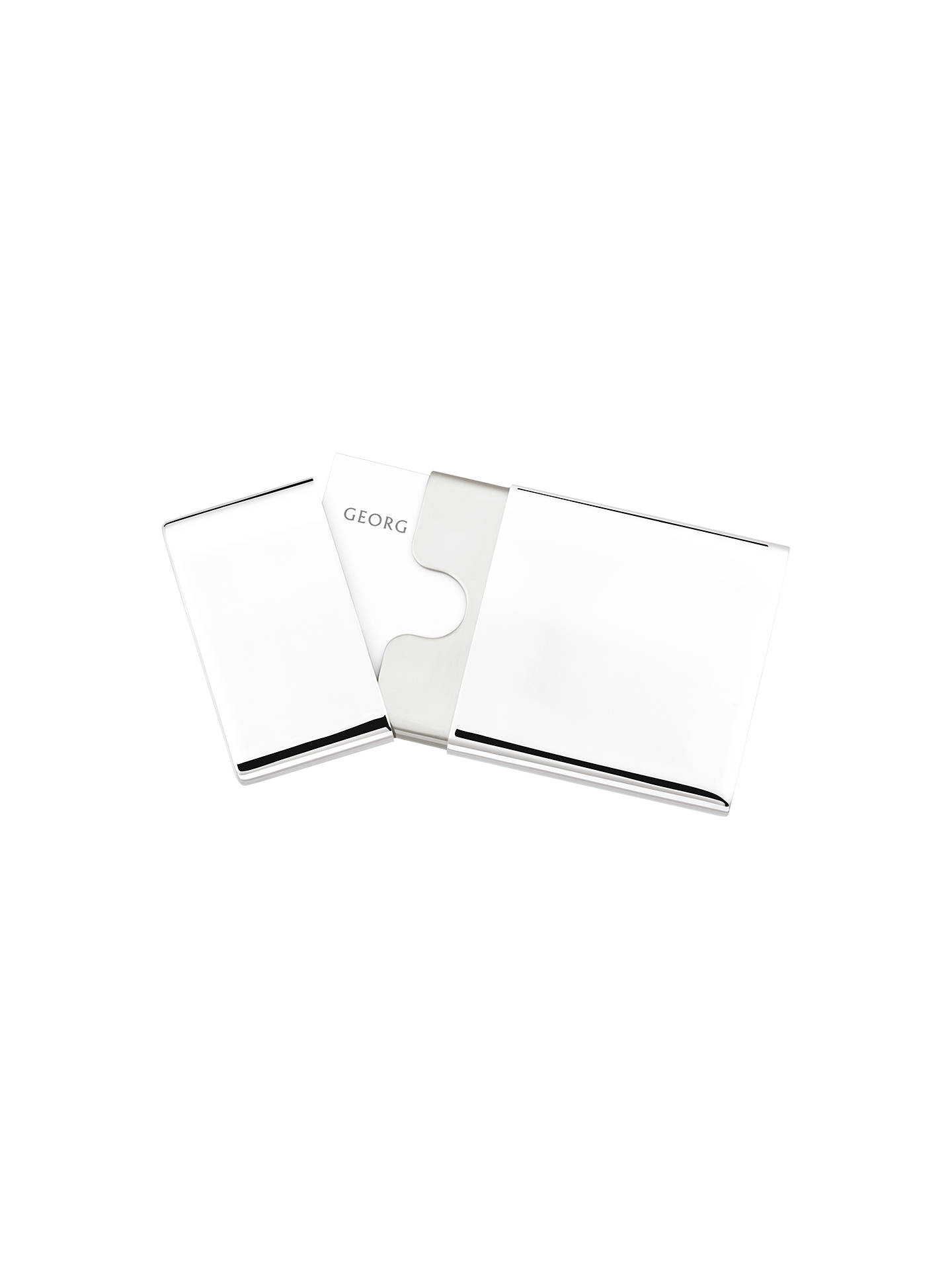 Georg Jensen To Go Business Card Holder At Johnlewis Com