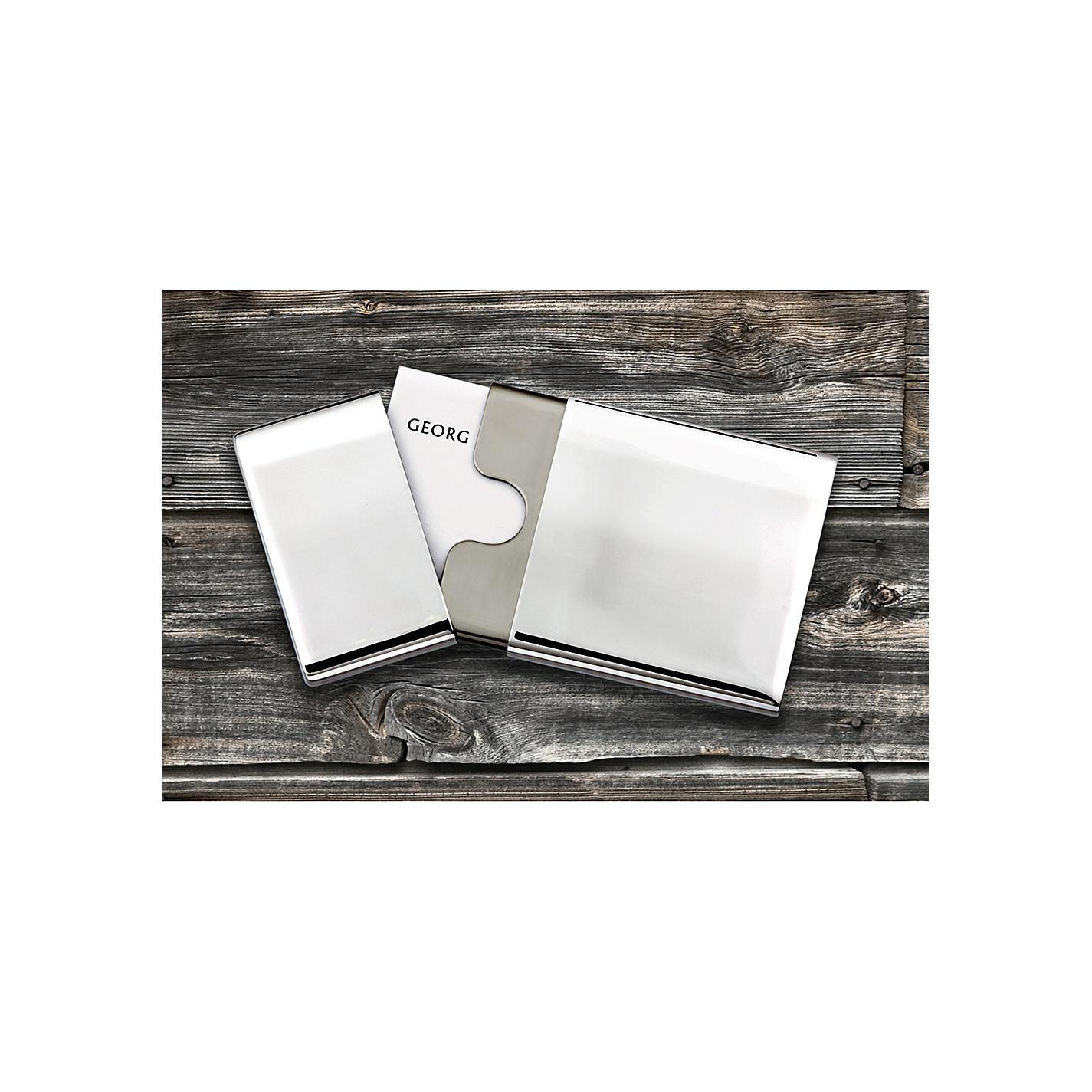 Buy Georg Jensen To Go Business Card Holder | John Lewis