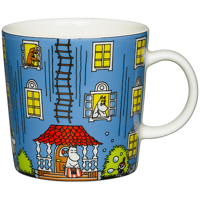 Product photo of Finland arabia moomin house mug
