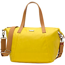 Buy Storksak Noa Changing Bag, Yellow Online at johnlewis.com
