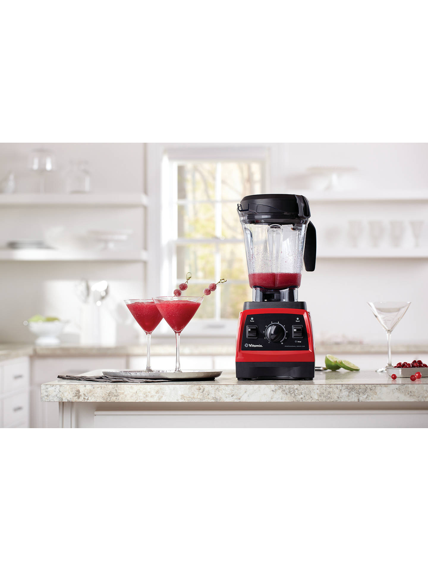 Buy Vitamix® Professional Series 300, Red Online at johnlewis.com
