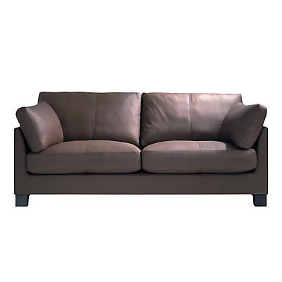 John Lewis Ikon Large 3 Seater Sofa, Dakota Mocha