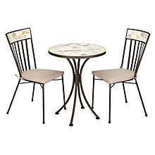 Buy John Lewis Petra Mosaic Bistro Dining Set Online at johnlewis.com