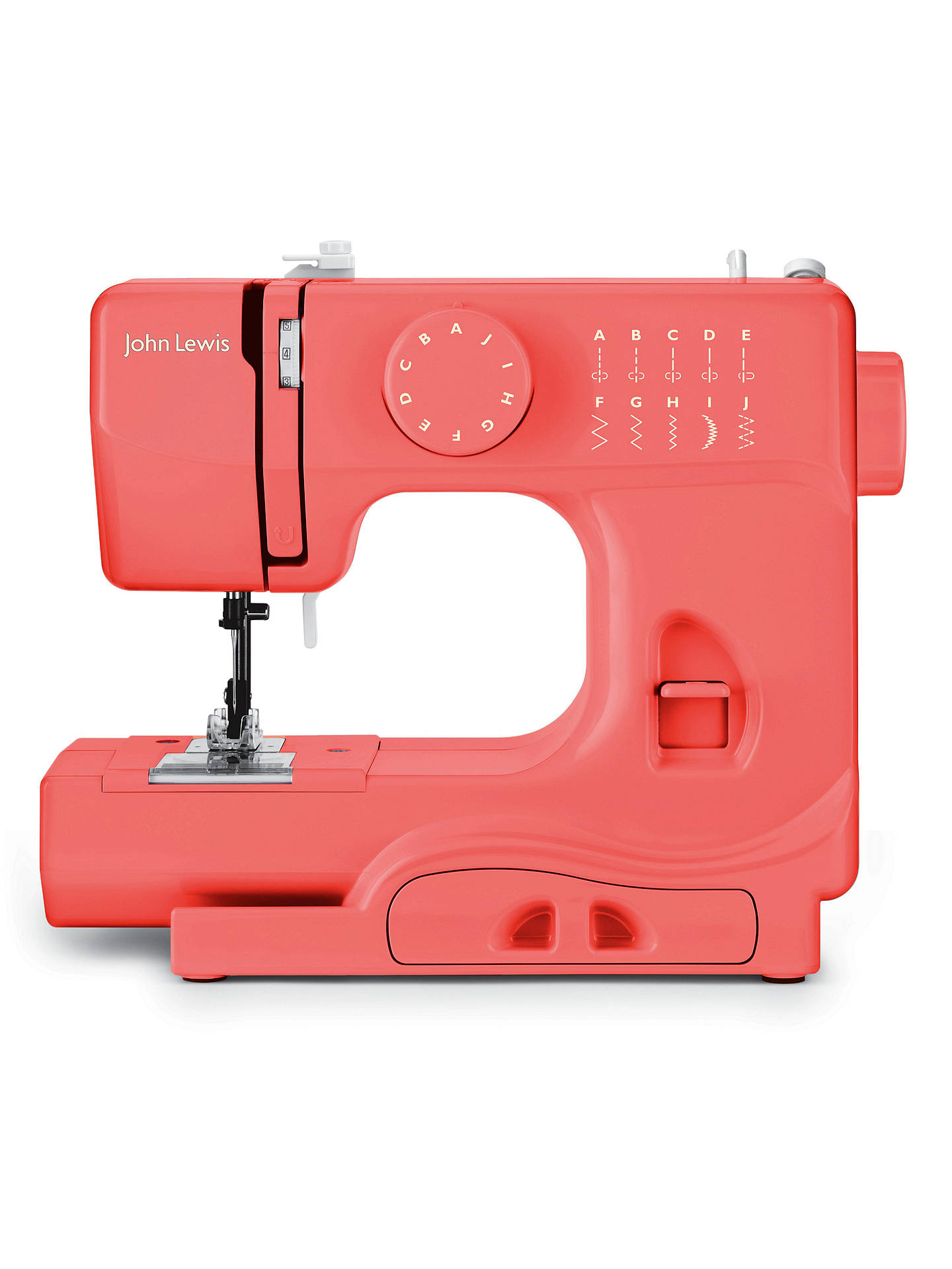 Buy John Lewis Mini Sewing Machine, Watermelon Online at johnlewis.com