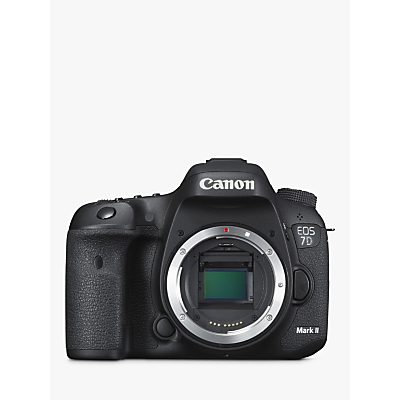 Canon EOS 7D MK II Digital SLR Camera, HD 1080p, 20.2MP, 3 LCD Screen, Body Only