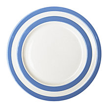 Buy Cornishware Side Plate, Blue/White, Dia.18cm, Seconds Online at johnlewis.com