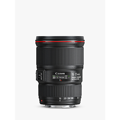 Canon EF 16-35mm f/4L IS USM Wide Angle Zoom Lens
