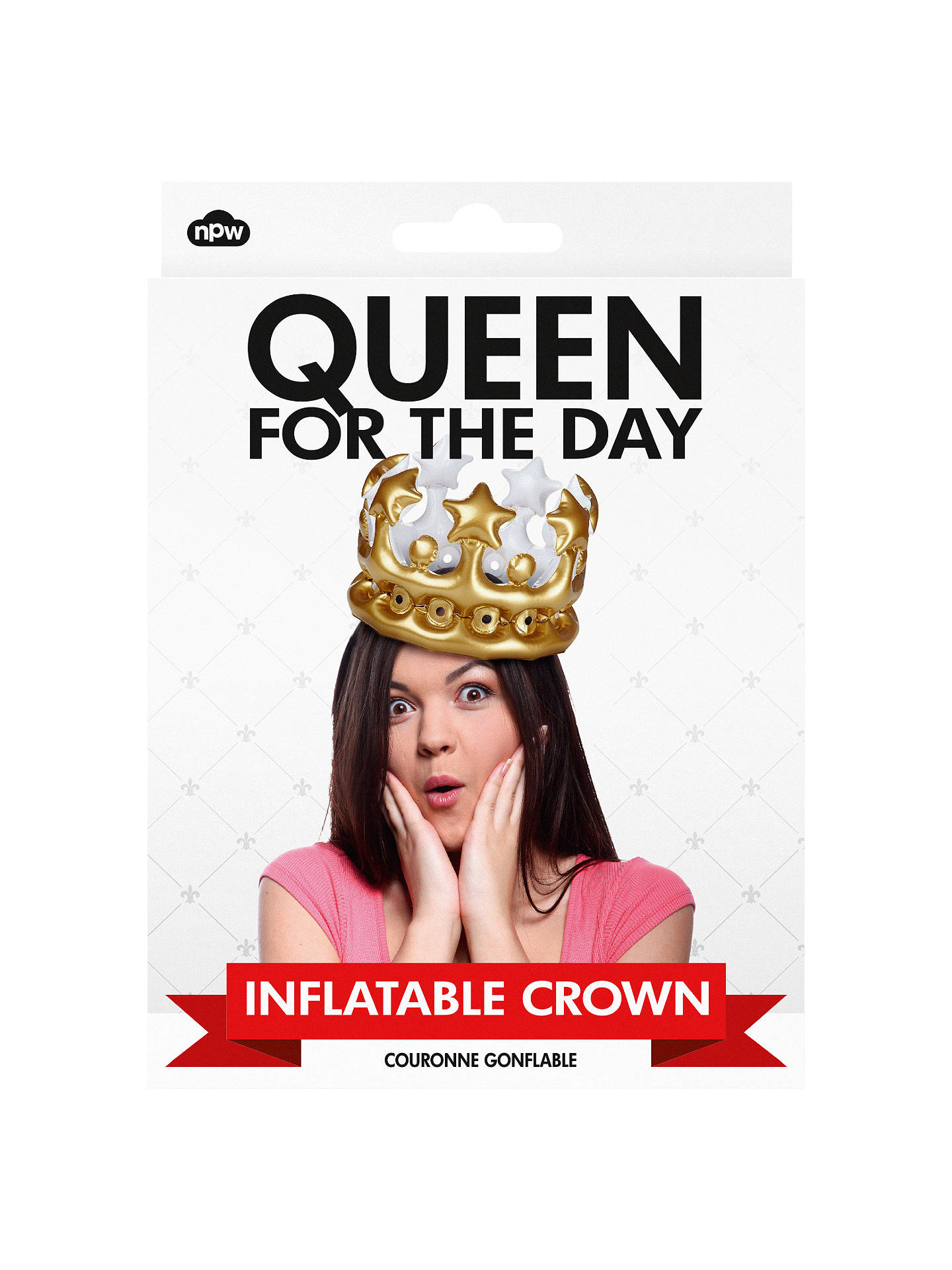 BuyNPW Inflatable Queen Crown Online at johnlewis.com