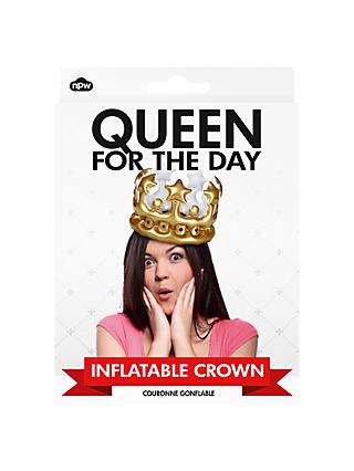 NPW Inflatable Queen Crown