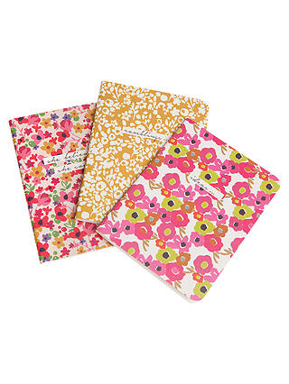 Buy Caroline Gardner Ditsy A5 Notebooks, Set of 3 Online at johnlewis.com