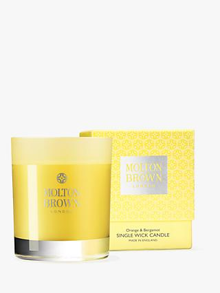 Molton Brown Orange and Bergamot Scented Candle, 180g