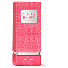 Buy Molton Brown Pink Pepperpod  Eau de Toilette, 50ml Online at johnlewis.com