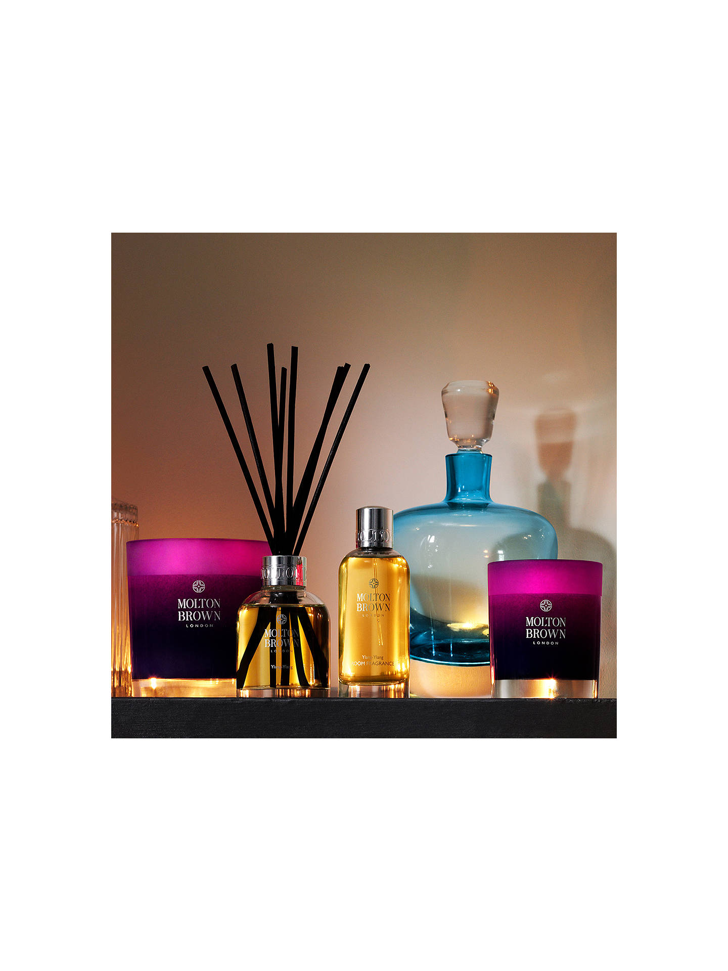 BuyMolton Brown Ylang-Ylang Three Wick Candle, 500g Online at johnlewis.com
