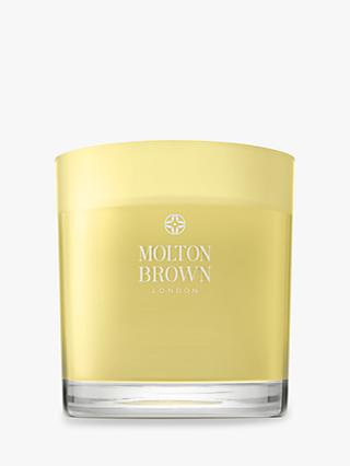 Molton Brown Orange & Bergamot Three Wick Scented Candle, 500g