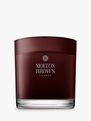 Molton Brown Black Peppercorn Three Wick Scented Candle, 500g