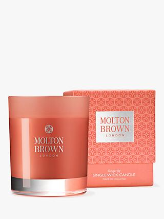 Molton Brown Gingerlily Scented Candle, 180g
