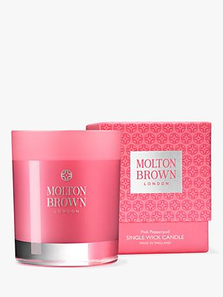 Molton Brown Pink Pepperpod Scented Candle, 180g