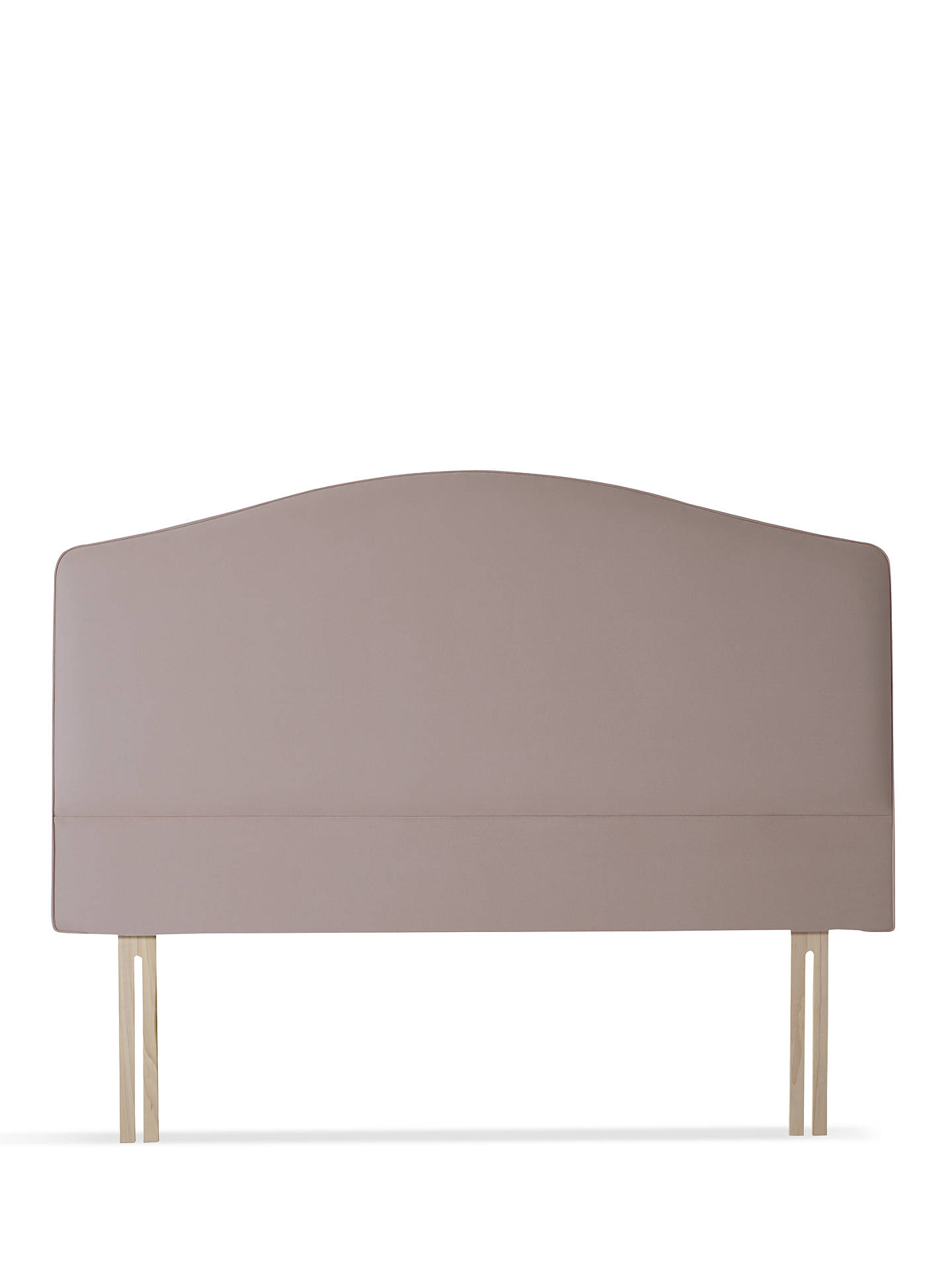 Buy Vispring Medusa Headboard, Double, Champagne Online at johnlewis.com