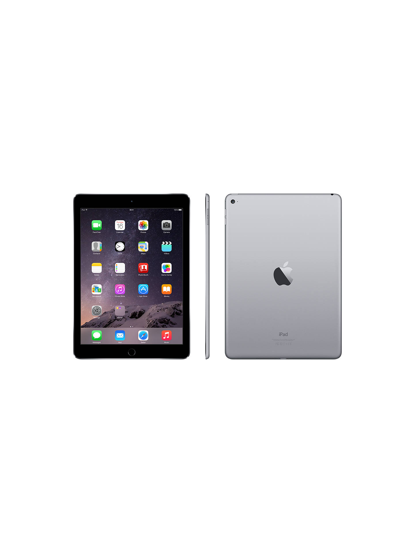 Apple iPad Air 2, Apple A8X, iOS, 9 7