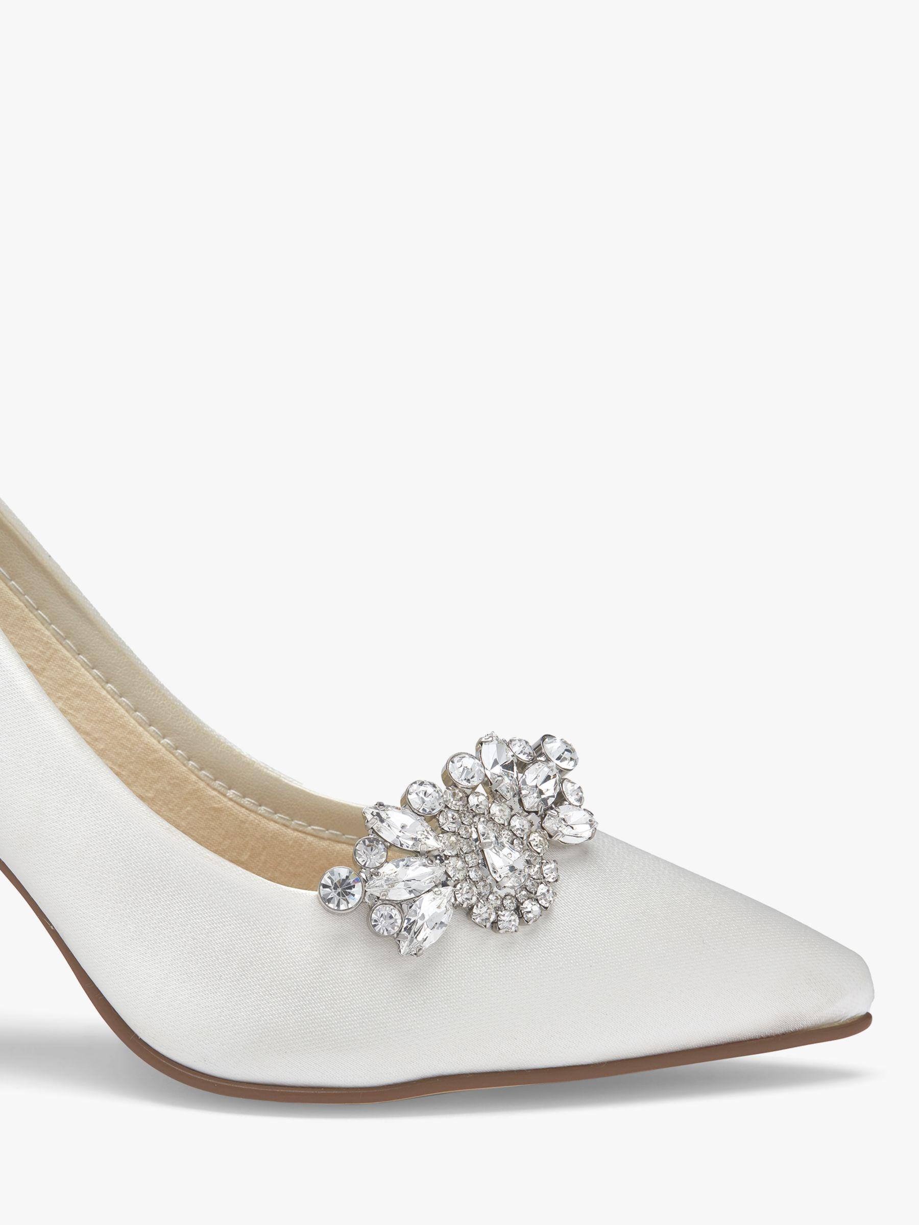 Rainbow Club Rainbow Club Myra Diamante Embellished Shoe Clips