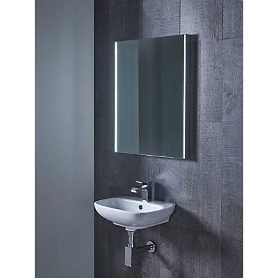 Roper rhodes precise illuminated bathroom mirror gay times John lewis bathroom design and fitting