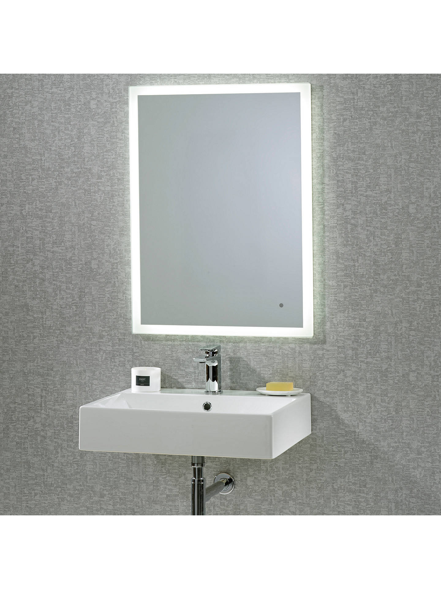 Roper Rhodes Intense Illuminated Bathroom Mirror At John