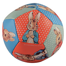 Buy Beatrix Potter Peter Rabbit Soft Ball Online at johnlewis.com