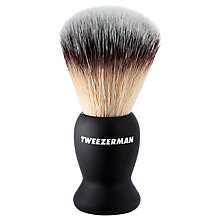 Buy Tweezerman Deluxe Shaving Brush Online at johnlewis.com