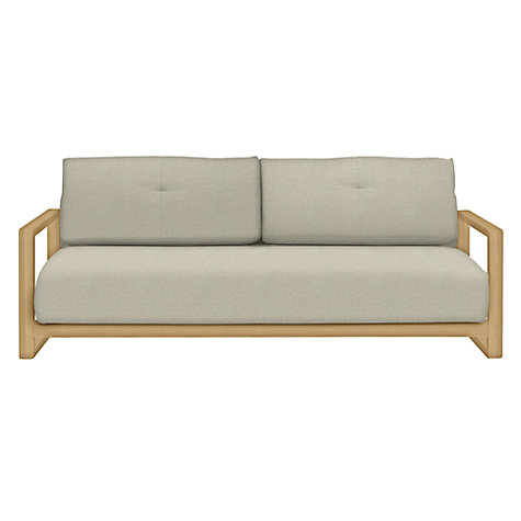 Buy john lewis mercer sofa bed evora putty john lewis for Sofa bed qatar living