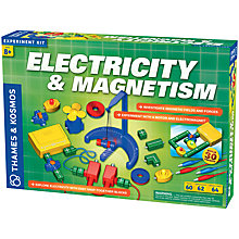 Buy Thames & Kosmos Electricity & Magnetism Experiment Kit Online at johnlewis.com